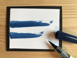 "Pinselstift ""steel blue"""