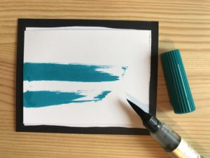 "Pinselstift ""Turquoise"""