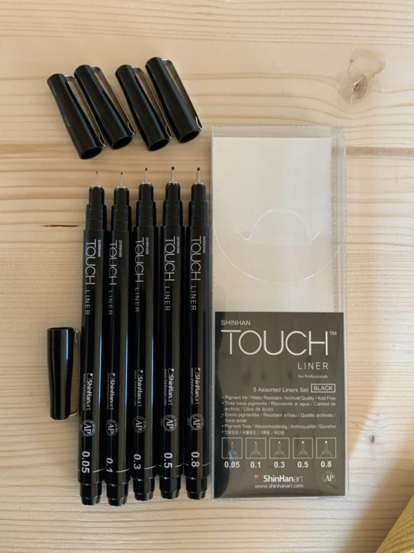 Touch Liner Set