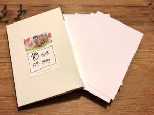 10 Stk. A4 – Kartenpapier 500g